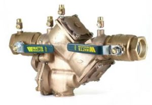 RPBA -Reduced Pressure Backflow Assembly